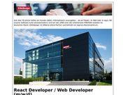 React Developer Web Developer m