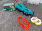 Rasenmäher Bosch Kabel Wasserschlauch NEU