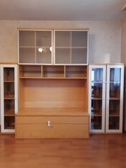 Fernsehschrank mit Vitrine IKEA