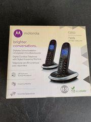 Motorola C2012 Twin - 2 Schnurlostelefone