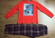 Jungen Schlafanzug Gr 146 - 152