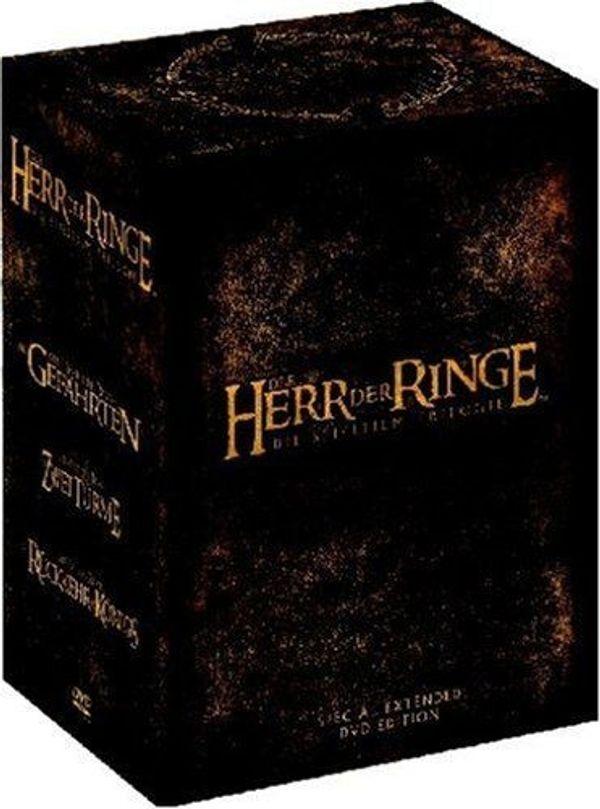 Herr der Ringe DVD Box