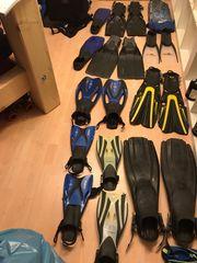 Verkaufe Geräte- und Schwimmflossen