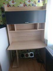 Jugendzimmermöbel Schreibtisch Kleiderschrank Schrank