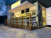 Food Container - Foodtruck - Verkaufskiosk - Containerbar