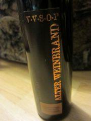 Alter gelagerter deutscher Weinbrand