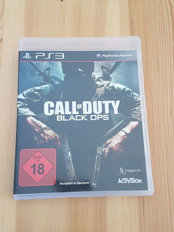 PS3 CALL OF DUTY - BLACK