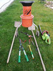 Garten oder Schrebergartenset ohne tank