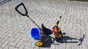 puky Dreirad mit Stange und