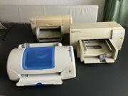 Drucker Tintenstrahldrucker HP DeskJet Epson