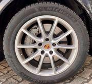Porsche Cayenne Winterreifen Michelin Pilot