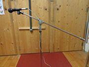 Mikrofonständer incl Mikrofon
