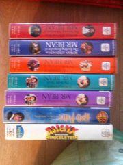 Video-Kassetten VHS-Kassetten zu verschenken