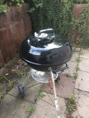 Weber Grill Compact Kettle Holzkohle