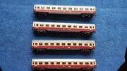 4x H0 TEE Personenwagen 1