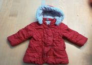 Kinder-Wintermantel rot gr 86