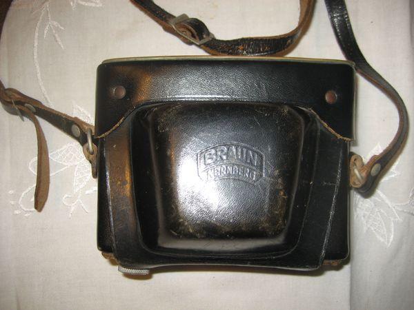Braun Paxette 35 Auto mit