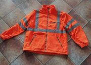 Warnschutz-Fleecejacke orange