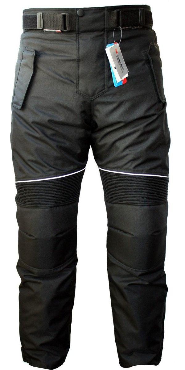 Motorradhose Textil schwarz