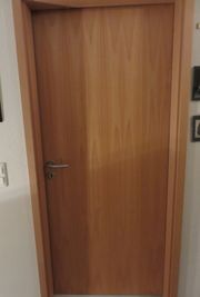 1 Zimmertür-Türblatt Buche furniert DIN rechts