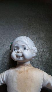 Puppe Bisquit Porzelan Kopf