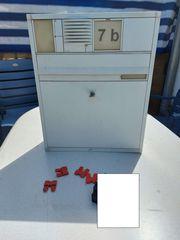 Siedle Aufputz Briefkasten Sprechanlage Klingel