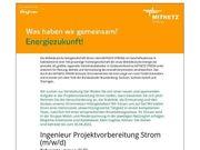 Ingenieur Projektvorbereitung Strom m w