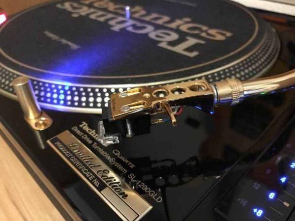 Technics SL-1200GLD Professional DJ Plattenspieler