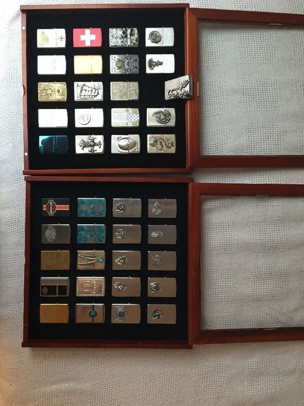 40 Stück Zippo Sammlung - nur