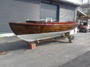 Holzboot Boot Fischerboot Motorboot