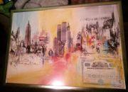 Bild Weltwirtschaft 106 cm x