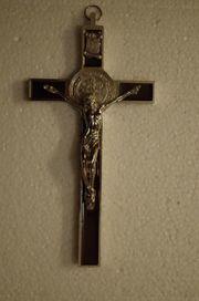 Jesus Christus Kreuz Silber Kruzifix