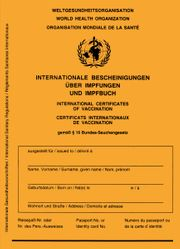 5 x Impfpass Schutzhülle Dokumentenhülle