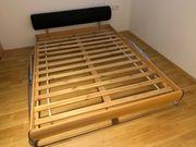 Verschenke Bett mit Lattenrost