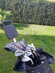 AMF Golfschlägerset mit Trolley und