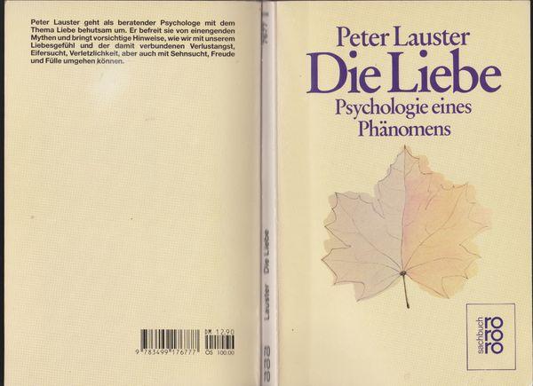 Buch Die Liebe - Psychologie eines