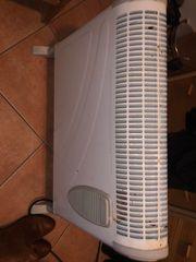 Heizkörper mit Ventilator und Thermostat