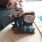 Matrose mit Uhr und Kalendereinstellung