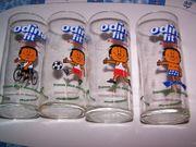 4 Vintage-Trinkgläser Odina Fit