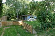 Freizeit Grundstück mit Holz Blockhaus