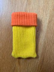 Handysocke gelb-orange - NEU -