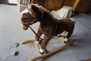 Schauckelpferd Pferd Pony Schauckel groß
