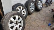 Winterreifen Autoreifen auf Alufelgen Mercedes