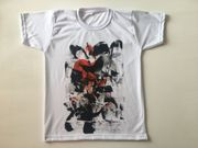 Handbemalte baumwolle T-Shirts