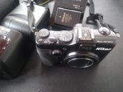 Nikon COOLPIX P7100 Metz Blitz