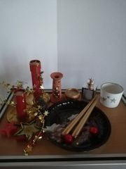 Weihnachts Deko zusammen