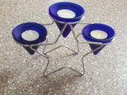 Weihnachts Kerzenständer für Teelichter Stern