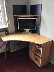 Kompakter Schreibtisch PC Tisch für