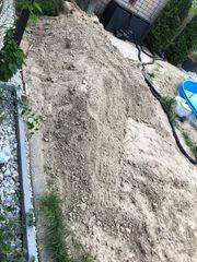 Sand abzugeben kostenlos