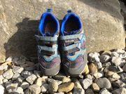 blaue Geox Turnschuhe Sneakers Halbschuhe